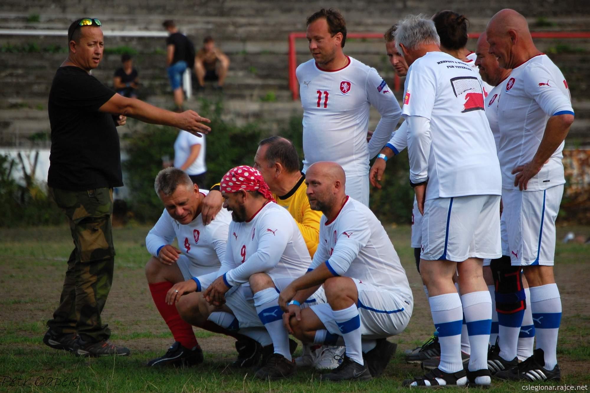 Fotbalové utkání vál veteránů