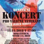 Benefiční koncert pro válečné veterány