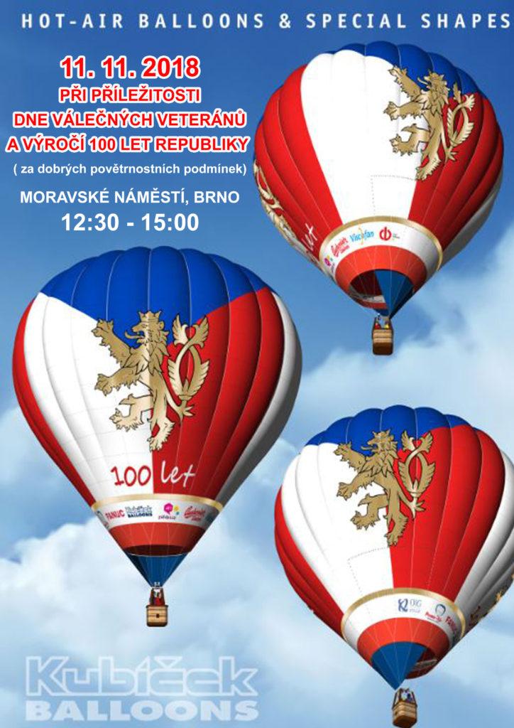 Balon na Moravském náměstí