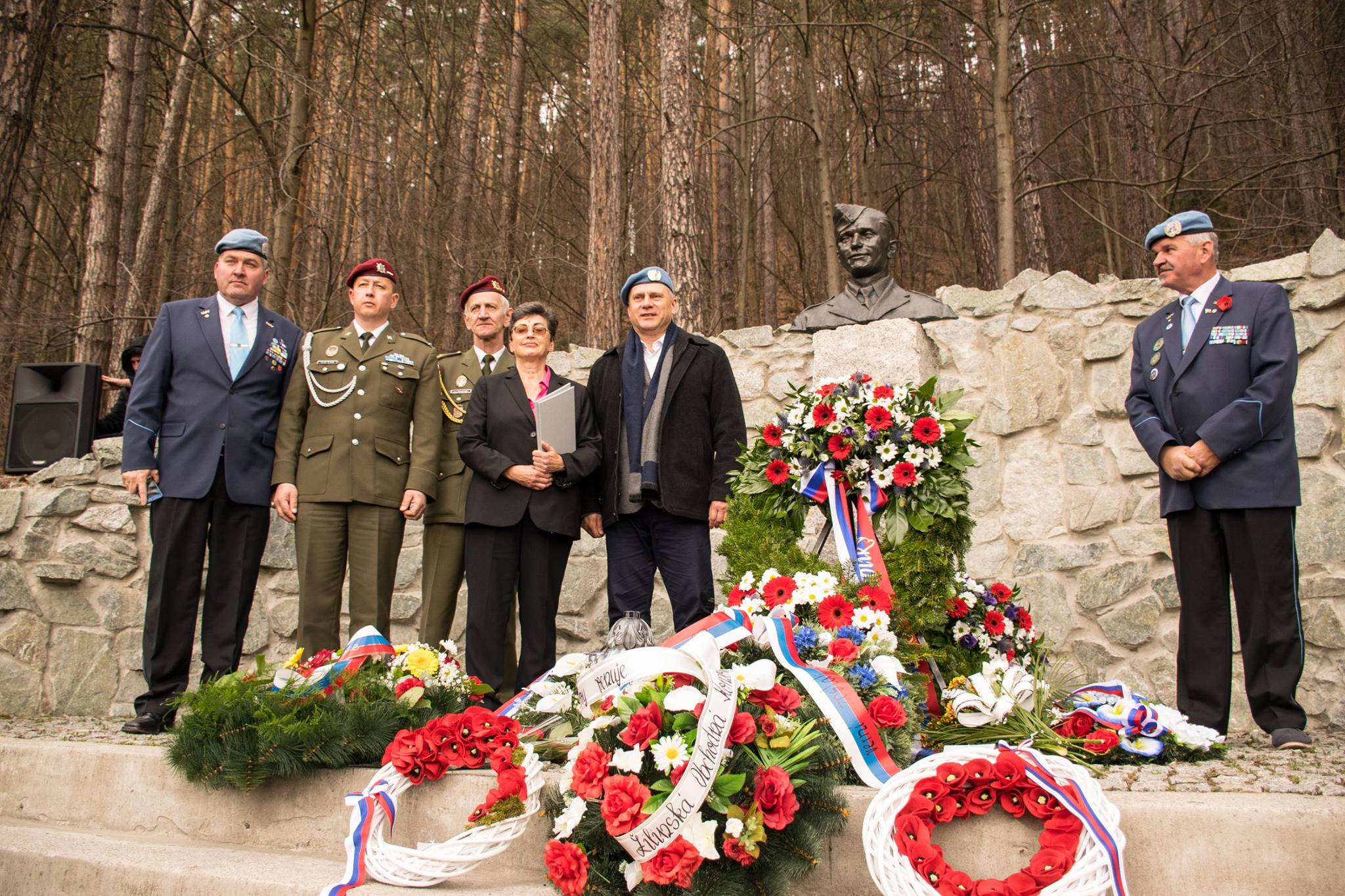 Poluvsie - památník J. Gabčíka