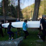 2. trénink Dračích lodí - Skippy